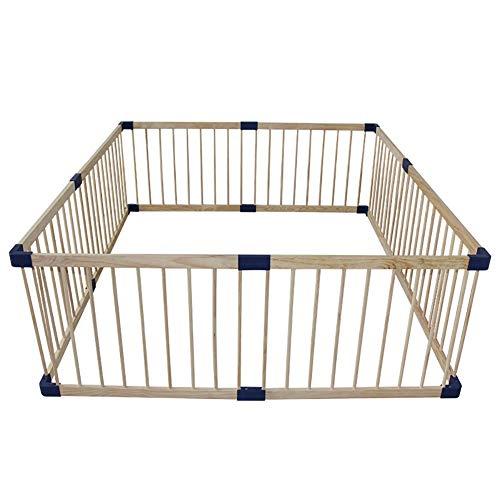 Bambini recinto- cornice in legno per box bambino, grande recinzione di sicurezza per animali domestici e bambini, assemblaggio facile e veloce, 61 centimetri di altezza (size : 160x160cm)