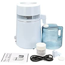 Autovictoria Destilador de agua Purificador Water Distiller Destilador de agua pura Filtros Destilación de agua 4L