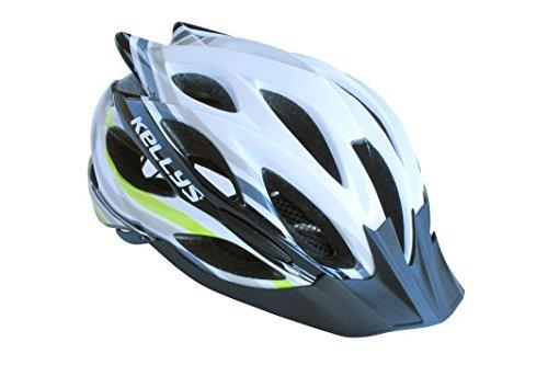 KLS Helm Dynamic White/ Green S/M 54cm-58cm