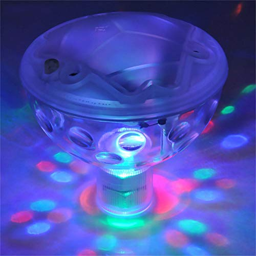 LHY LIGHT Pool Lichter schwimmende Unterwasser LED Disco Licht Show Swimmingpool Whirlpool Spa Lampe