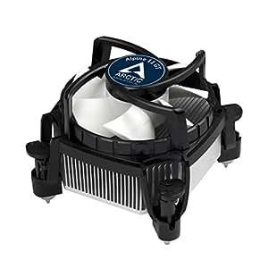 ARCTIC - Alpine 11 GT - 80 mm PWM Ventilateur CPU Silencieux | Refroidisseur Silencieux | Facile à Installer | Breveté | Compatible avec prises Intel