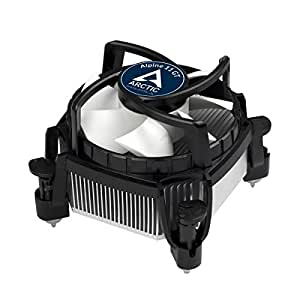 ARCTIC Alpine 11 GT Rev. 2 - Dissipatore per CPU Intel - fino a una potenza di raffreddamento di 75 Watt grazie a una ventola da 80 mm PWM