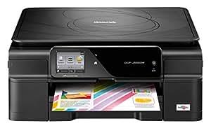Brother DCP-J552DW Farbtintenstrahl-Multifunktionsgerät (Scanner, Kopierer, Drucker, Duplex WLAN) schwarz