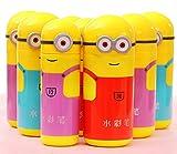 #8: Jiada Cartoon Shape Pencil Box Having Sketch Pen/Stationary Kit - 12 Pens | Birthday Party Return Gift for Kids (10 case)