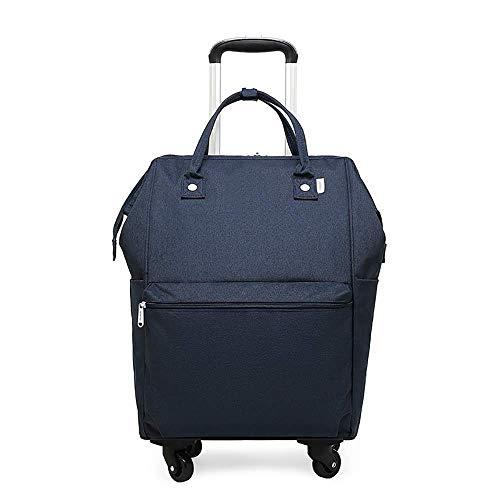 RUIMA Laptoprucksack mit Rädern Reiseradrucksack Unisex Damen Herren Business Rucksack (Roulette-rad 20)