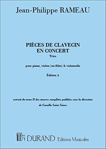 Pieces De Clavecin En Concert, Trios, Pour (Rameau Trio)