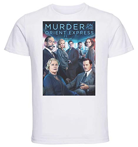 Instabuy T-Shirt Unisex - White Shirt - Murder On The Orient Express Playbill Size Large - Express-film-poster