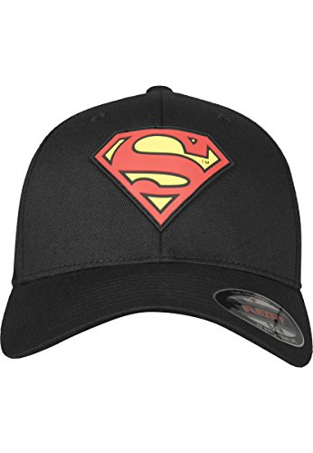 Merchcode Herren Caps / Flexfitted Cap Supermann Blk