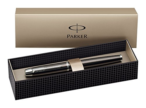 Parker Füllfederhalter  PARKER IM  Gun Metal  C.C.