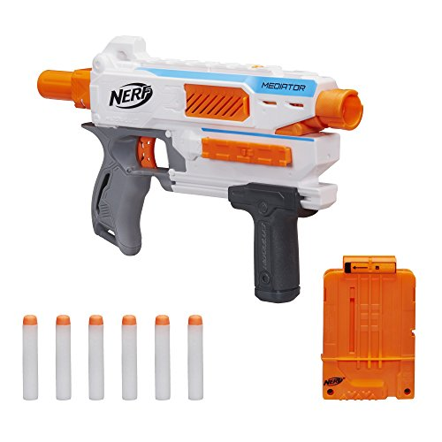Hasbro Nerf E0016EU4 toys N-Strike Modulus Mediator, Spielzeugblaster (Nerf Wasserpistole Clips)