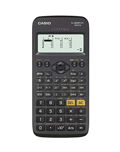 Casio FX-82SPXII Iberia - Calculadora científica (293 funciones, 24 niveles de paréntesis), color negro