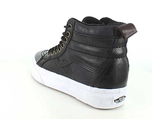 Vans Donna Nero Pebble Cuoio SK8-Hi 46 MTE Sneakers Nero
