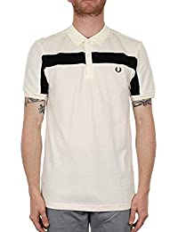 20cd51aca Fred Perry M3550 Knitted Collar Oxford Shirt Snow White Size M · £45.00  Prime. Fred Perry Mens Textured Panelled Pique Shirt