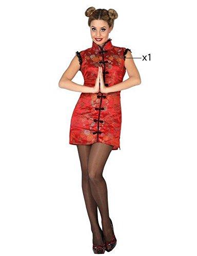 ATOSA 26522 - Chinesisch, Damenkostüm, Größe 38/40, rot