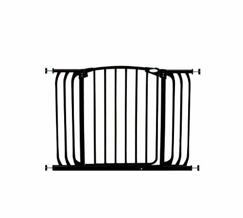 Dreambaby Swing Closed Hallway Security Gate, Black