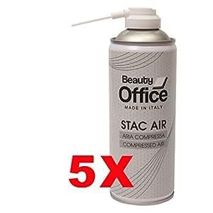 bombe spray air comprim nettoyage poudre stac plastic 5. Black Bedroom Furniture Sets. Home Design Ideas
