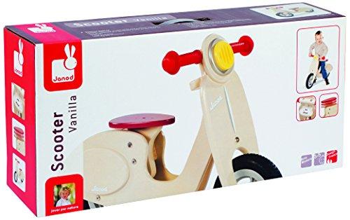 Janod 4503242 - Roller Vanilla, verstellbarer Sitz von 32 bis 36.5 cm