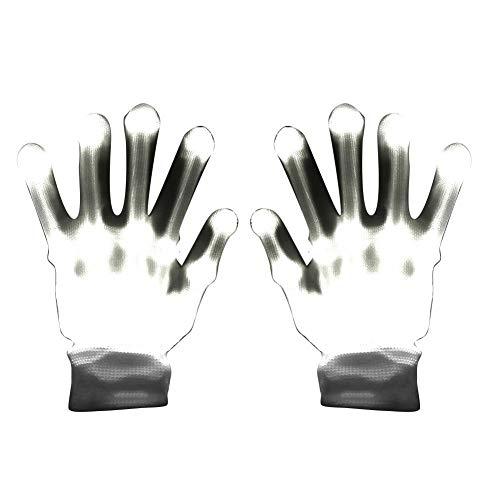 LED Handschuhe Blinkende Handschuhe Spielzeug, LED-blinkende Handschuhe Neuheit Cool Fun Toys, Glowing Festival Party Helle Regenbogen Beleuchtung Bühnenbeleuchtung Dekorative