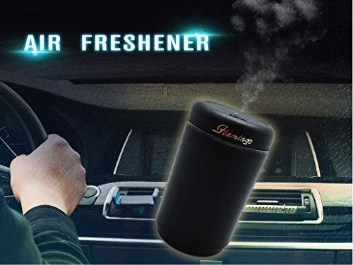 CarLab Ambientador eléctrico Inteligente humidificador aromatizante desodorizante no tóxico Coche Musk