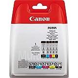Canon 0372C004 Cartouches d'encre d'origine Noir/Cyan/Magenta/Jaune