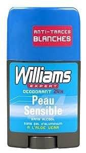 Williams - Déodorant - Stick Peau Sensible - 50 ml