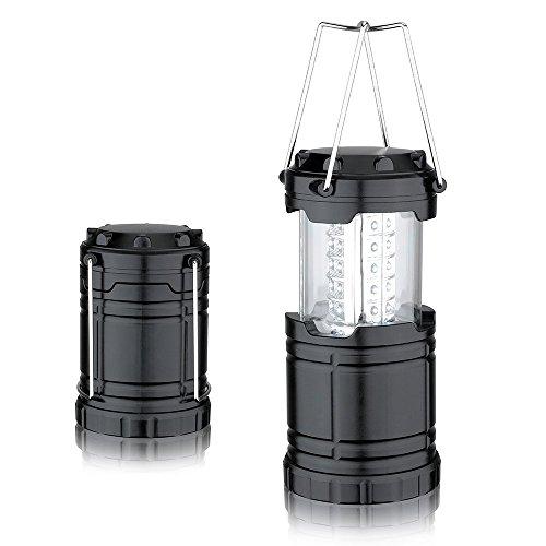 SunJas LED Laterne Campinglampe Vielseitig einsetzbar Lights tragbare faltbare Camping Laterne LED Zelt Campinglampe Taschenlampe für Wandern, Angeln,Abenteuer u.s.w (2-zimmer-zelt)