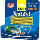 Tetra - Tiras 6 en 1 para test de acuario