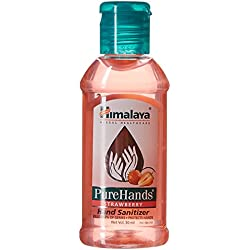 Himalaya Herbals Pure Hands Sanitizer - 50 ml (Strawberry)