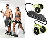 Uteruik Hommes Femme Fitness Préparateur Abdominal ABS Kit De Formation Des Bandes De Résistance Exercice Multifonction Crossfit Exercice