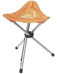 Elementerre BC 015 - Silla de tres patas plegable, color naranja , talla 46 x 33 x 33