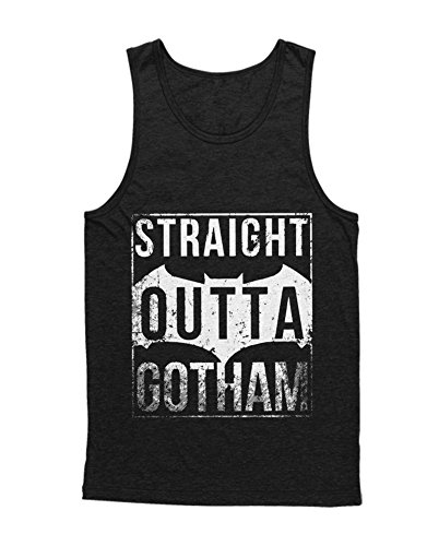 ight Outta Gotham F000014 Schwarz L (Herren Bane Kostüm)