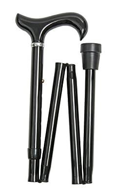 Extra Long Height Adjustable Folding Walking Stick