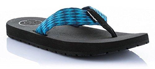 Source uomo Dita sandali Djibouti diversi colori Blu - blu