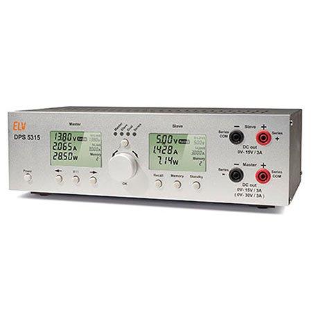 ELV Dual-Power-Supply DPS 5315, Komplettbausatz 3a Linear Power Supply
