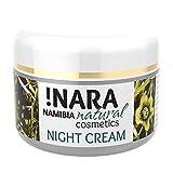 Nara Nachtcreme, Naturkosmetik, reichhaltige Gesichtscreme für trockene und empfindliche Haut (1x50...