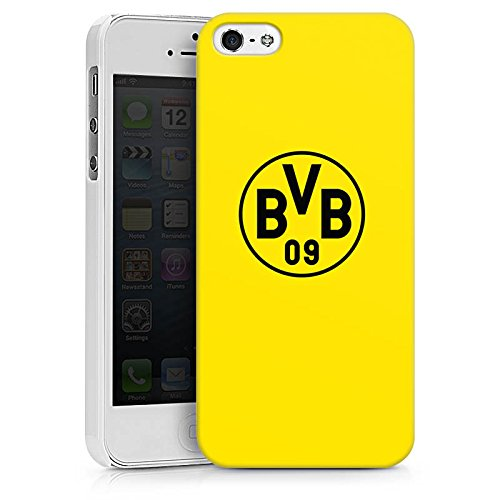 Apple iPhone 7 Silikon Hülle Case Schutzhülle Borussia Dortmund BVB Logo gelb Hard Case weiß