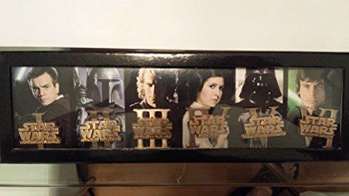 Disney D23 Expo 2015 Exclusive Star Wars Episode I - VI Darth Vader Boba Fett LE Pin Set by Disney (Disney Set Pin)