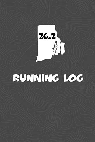 Running Log: Blank Lined Journal for anyone that loves Rhode Island, running, marathons! por KwG Creates