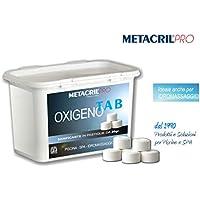 Oxigeno Tab 20–sanificante a base de oxígeno activo (Pastillas de 20gr–conf. 1kg–Jacuzzi y spa Teuco, Jacuzzi, hafro, Glass, etc.–Envío immediata