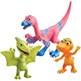 Tomy Dino Train - LC53054MP - Figurine - Pack 3 Personnages - Velma, Annie, Téo