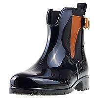 Tommy Hilfiger O1285Xley 2Z2 Women's Boots, Black (Black-Winter Cognac), 39 EU