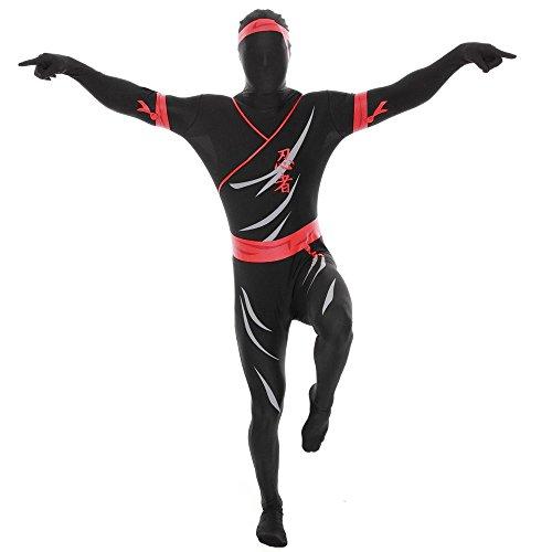Ninja Morphsuit Ganzkörperkostüm XL (180-186cm)