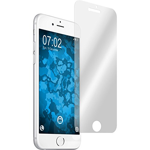 PhoneNatic Case für Apple iPhone 8 Silikon-Hülle X Mas Weihnachten M1 Case iPhone 8 Tasche + 2 Schutzfolien Design:03