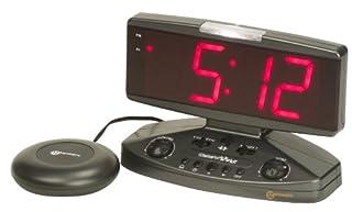 Geemarc Wake 'n' Shake Extra Loud Alarm Clock with Vibrating Shaker Pad, Telephone Ringer and Extra Bright Flashing Light- UK Version (B0007M68WK)   Amazon price tracker / tracking, Amazon price history charts, Amazon price watches, Amazon price drop alerts
