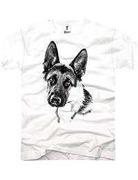 TEE-shirt pour homme schäfer-chien