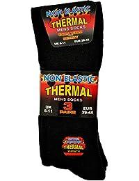 3 paires de chaussettes thermiques pour homme