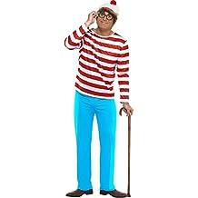 Smiffy's - Disfraz de Wally para hombre, talla 42 - 44 (34591L)