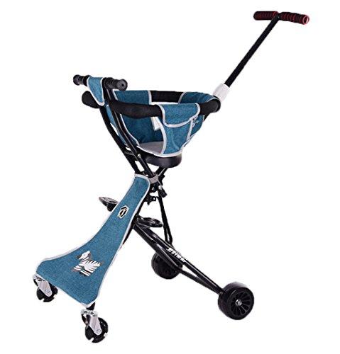 Peixia Department Store Kinderwagen Ultra Lightweight Kinderwagen Klapp-Kinderwagen Geeignet für 2-5 Jahre alt Baby Buggys Kinderwagen (Farbe : 1#)