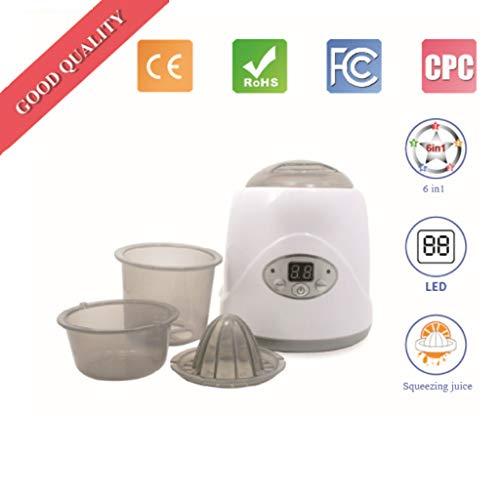 UV-Sterilisatoren Elektrischer Dampfsterilisator, warme Milchdesinfektion Warmmilchgerät konstante Temperatur multifunktionale Heißmilchflasche Sterilisatorflasche Heizung