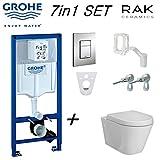 Grohe Rapid SL Fresh 5en 1Cadre de chasse d'eau WC Skate Cosmopolitan 38827000